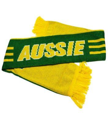 Australian Green & Gold Scarf
