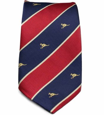 Striped Kangaroo Tie