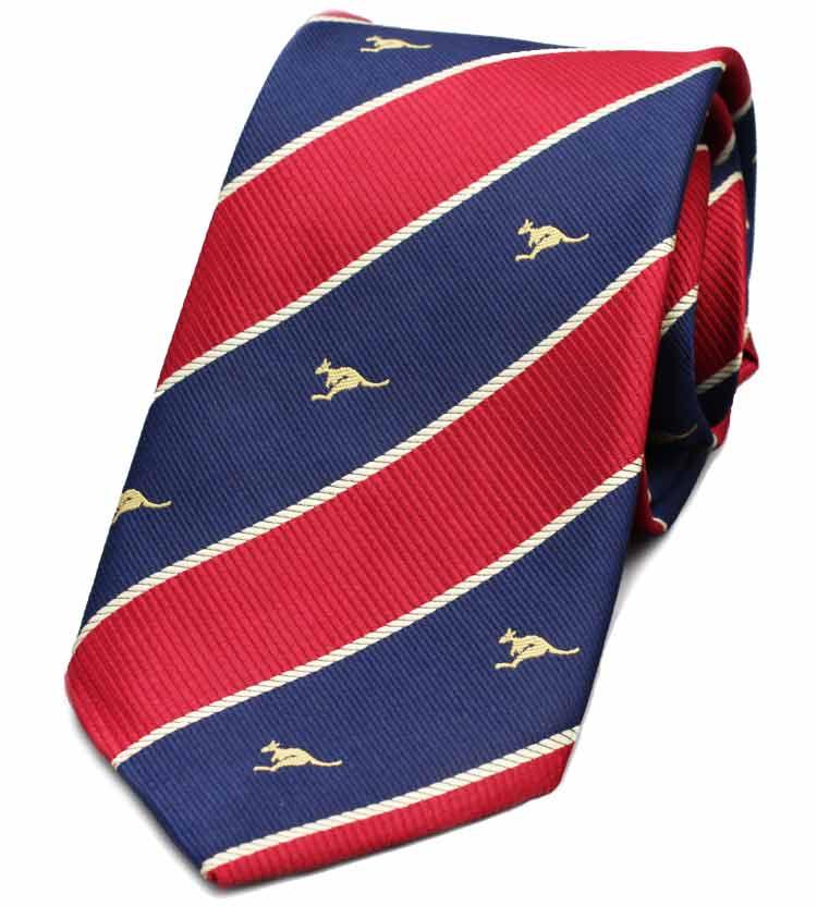 Striped Kangaroo Tie