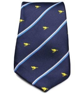 Australian Kangaroo Striped Tie