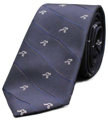 Navy Kangaroo Tie