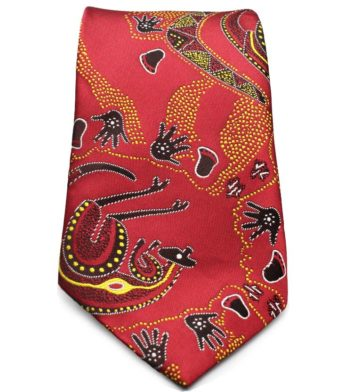 Red Australian Neck Tie