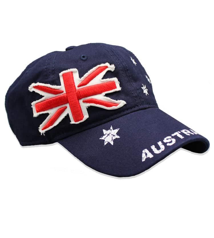 Australia Flag Cap Side
