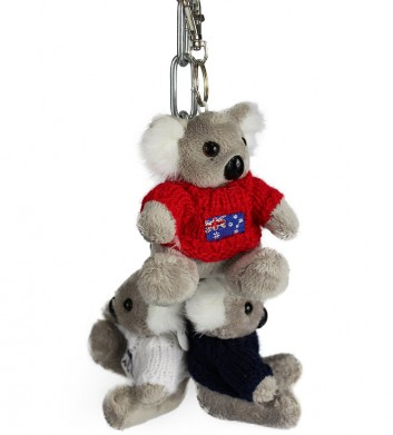 Koala with Jumper Keyring
