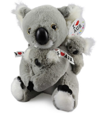 Koala & Babies Plush Toy