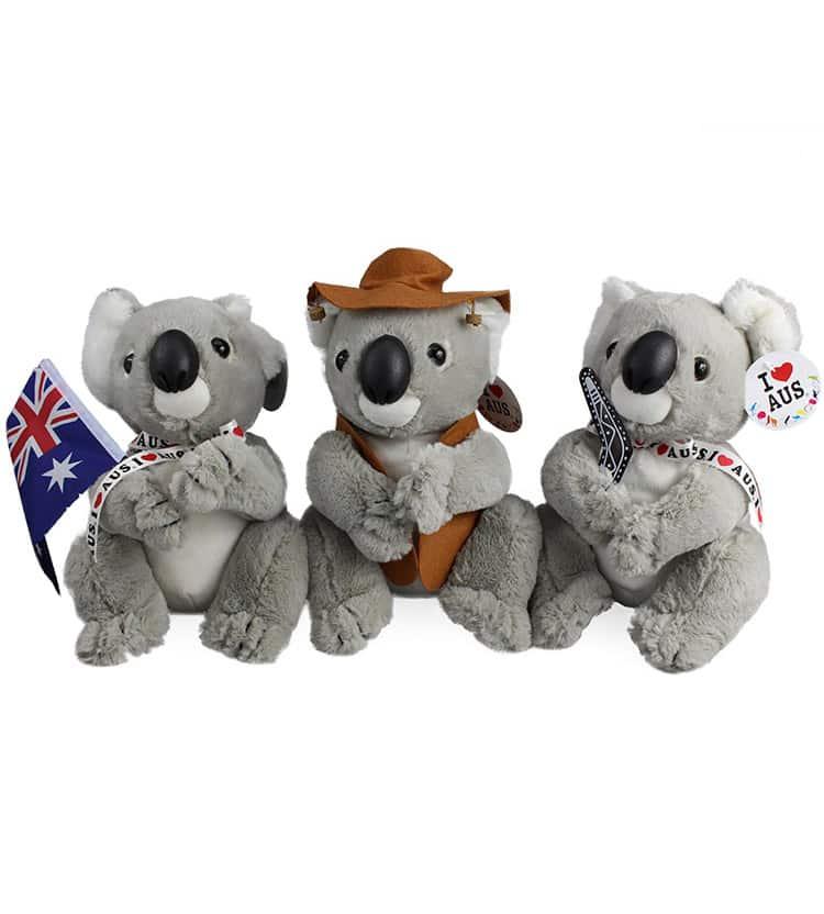 Medium Koala Plush Toy 23cm Australia The Gift