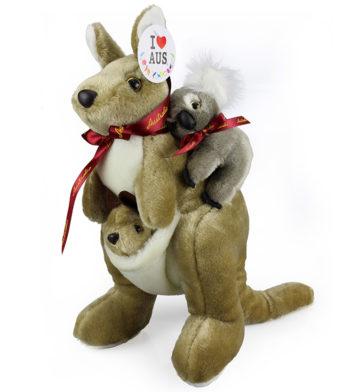Kangaroo & Koala Toy