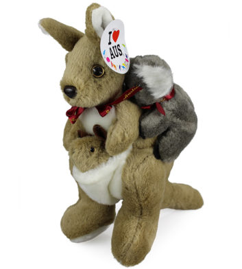 Kangaroo Carrying Koala
