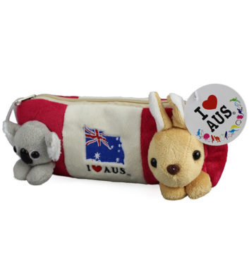 Koala & Kangaroo Pencil Case