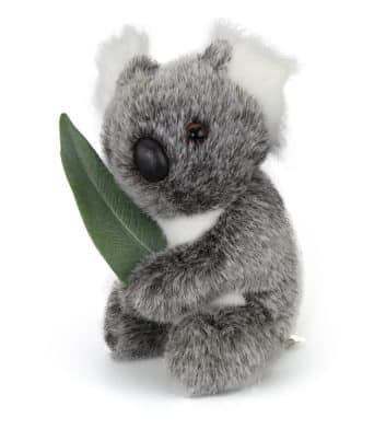 Australian Made Koala & Leaf