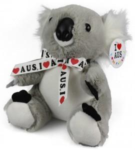 Small Koala With Ribbon