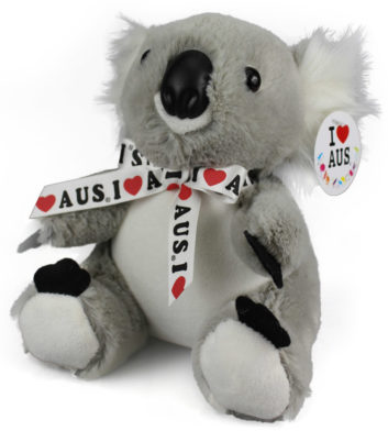 Small Koala With Ribbon