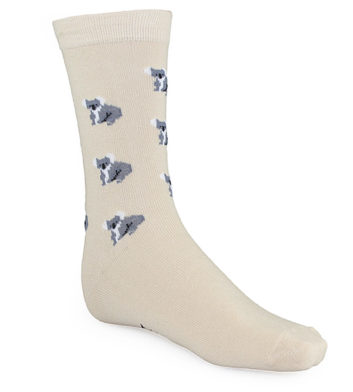 Ladies Koala Cotton Socks