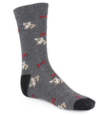Wool Koala Sock