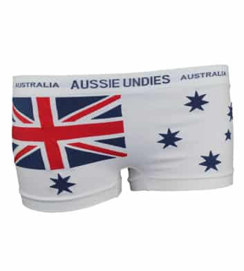 Ladies Australian Flag Underwear