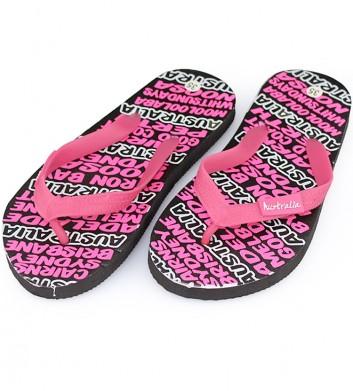 Pink thongs
