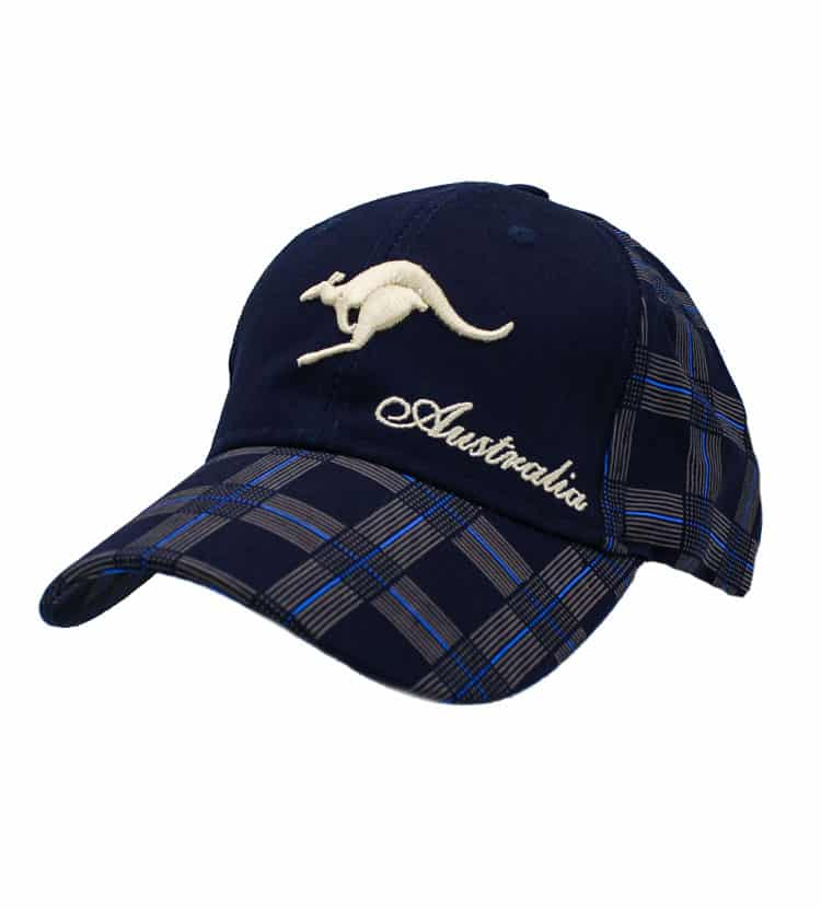 Australia Kangaroo Cap Navy 43fa660537b5