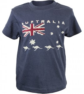 Australia Flag Kids Shirt