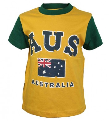 Australia Flag Kids T-Shirt