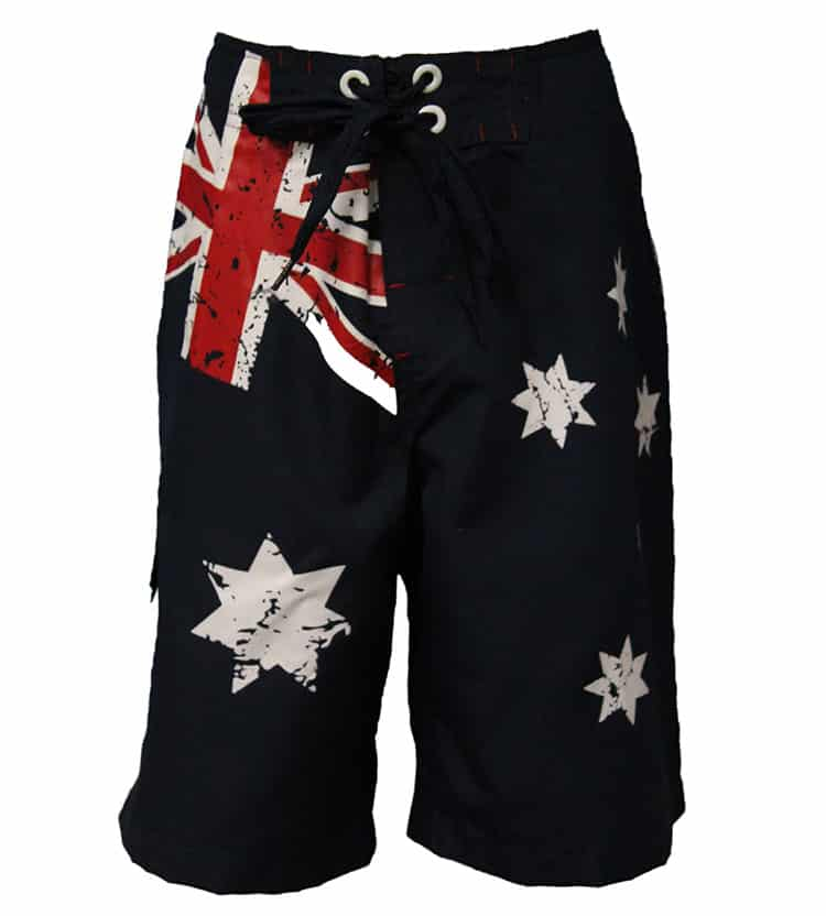 Australian Flag Board Shorts