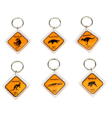 AUSTRALIAN ROADSIGNS KEYRING