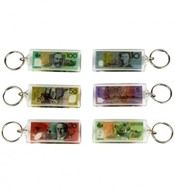 Australian Money Keyring