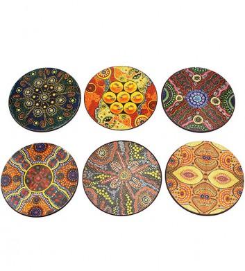 Aboriginal Coaster