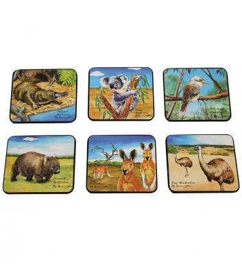 51553_WOOD-ARTISITIC-AUSTRALIAN-ANIMALS-COASTER