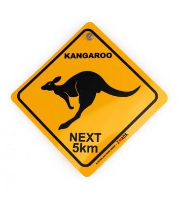 Kangaroo Roadsign