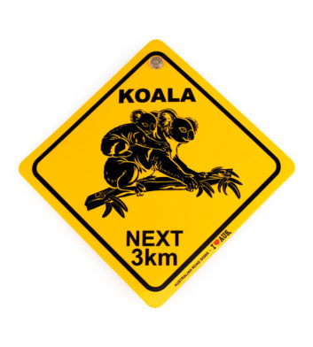 Koala Roadsign