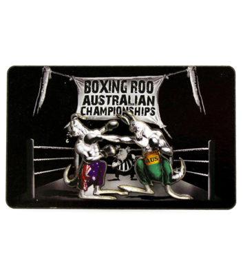 Boxing Kangaroo Magnet