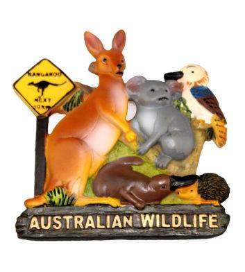 Australian Wildlife Magnet