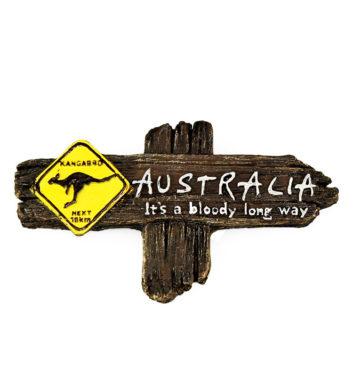 Australian souvenir magnet