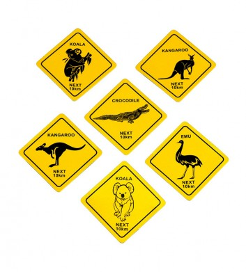 Roadsign Magnets