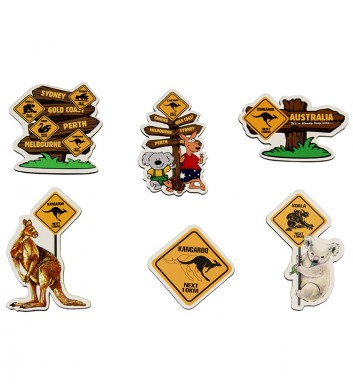 Australia Roadsigns Magnets