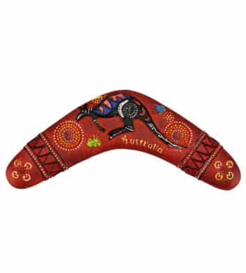 Boomerang Red Magnet