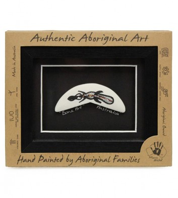 Aboriginal Bone Art Boomerang