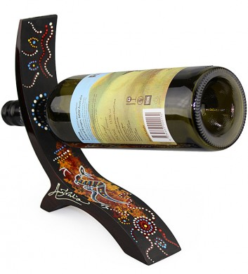 Lacquered Wine Holder