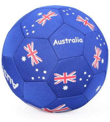 Soccerball Australian Flag