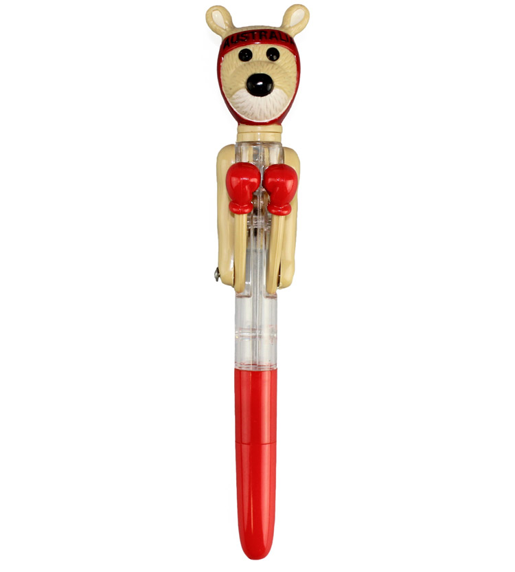 Red Boxing Kangaroo Pen Australia The Gift Souvenirs