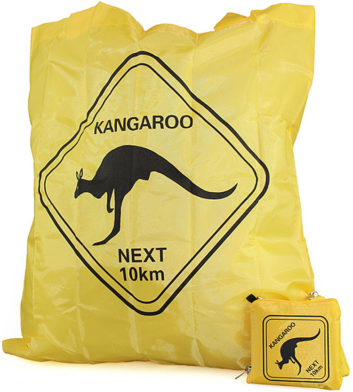 Australian Roadsign Folding Bag