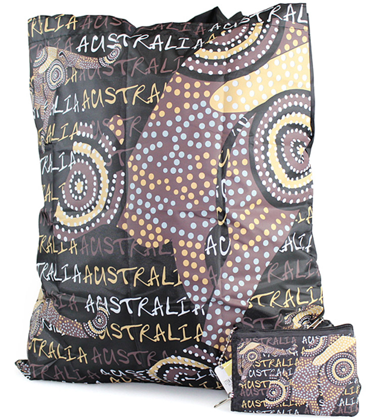 Dot Kangaroo Folding Bag