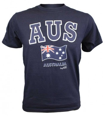 Aus Flag T-Shirt