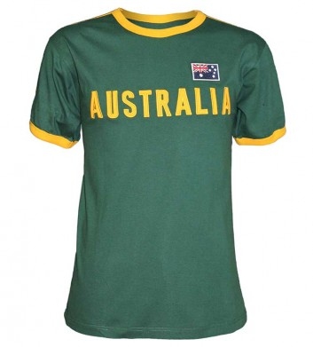 Australia Green & Gold Shirt