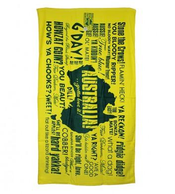 Australian Slang Towel