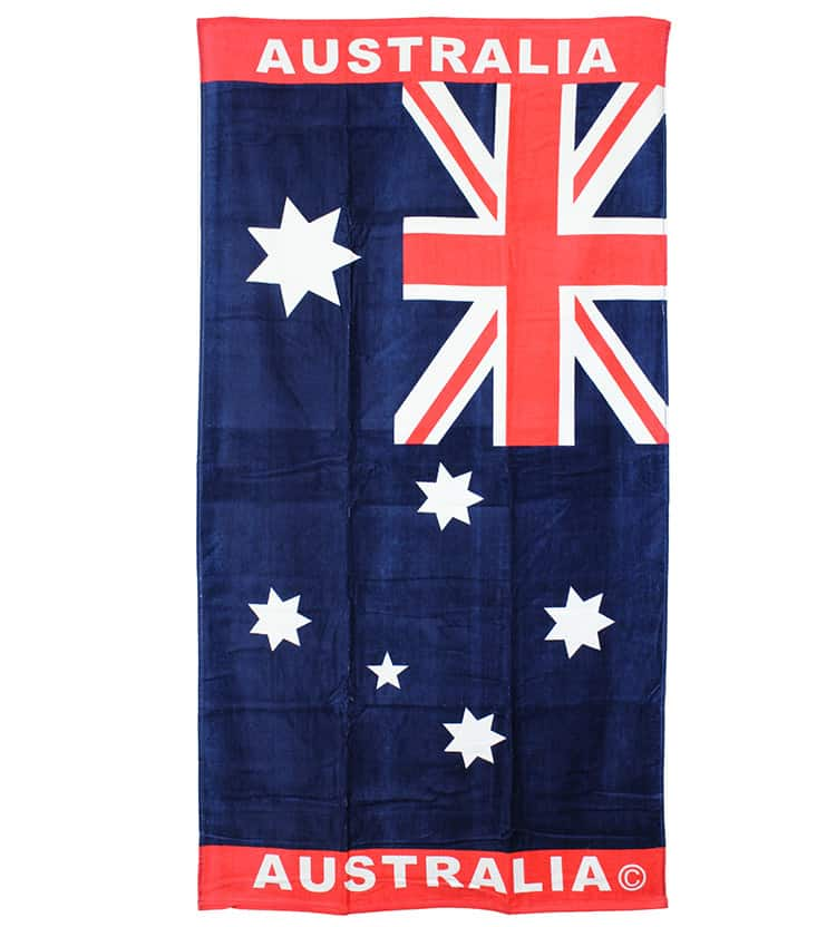 Gym Towel Adelaide: Australian Flag Towel