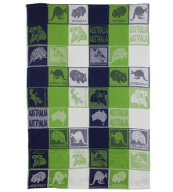 Aussie Tea Towel