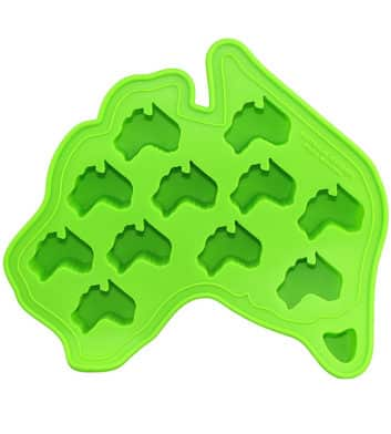 Australia Map Ice Cube Tray