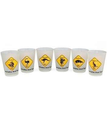 Australia Roadsigns Shotglasses