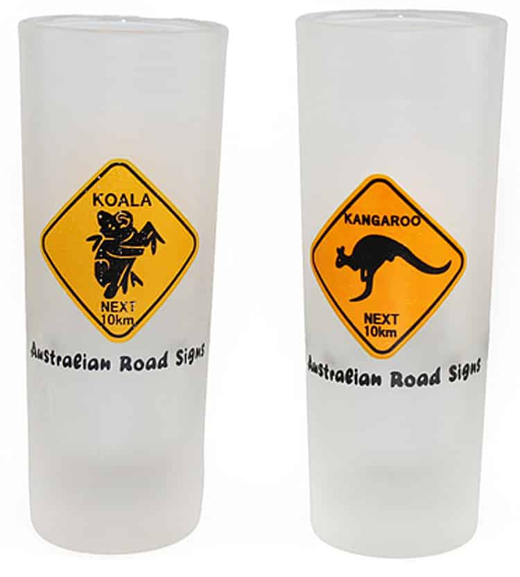 Road Sign Shooter Glasses